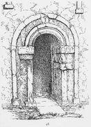 Earls Barton, westliche Turmtür, RdGA Bd1, Taf.047, Abb.048