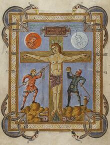 Evangeliar Franz II., Paris, MS lat. 257, f28 RdgA Bd3, Taf.011, Abb.011