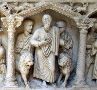 Daniel in der Löwengrube Museo della civiltà romana a Roma