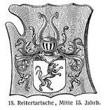 Reitertartsche 15.Jh. MgKL Rüstungen und Waffen III Fig.18