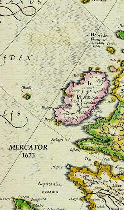 Hy Brazil R. Mercator 1623 FB