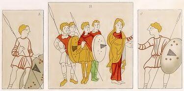 Wessobrunner Gebet 9. Jh., trachtenkunstwer01hefn p069, Taf.011