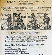 Ritter des HRR by Peter Jordan of Mainz
