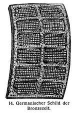 Germanischer Schild Bronzezeit MgKL Rüstungen und Waffen III Fig.14