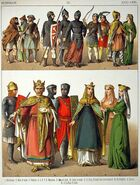 Normans 1000-1100 Costumes of All Nations 033 (1882)
