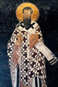 Basilius von Cäsarea, Chora Church, Istanbul 2012-12-30