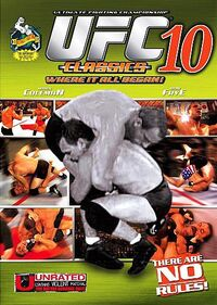 UFC 10 Classic DVD cover
