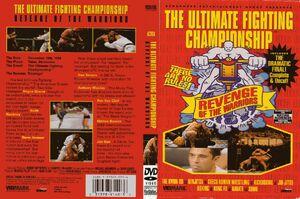 UFC 4 DVD cover