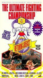 UFC 5 VHS case