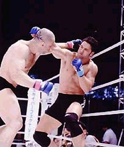 Guy Mezger vs Wanderlei Silva