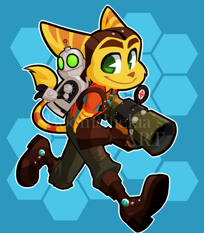 Ratchet and clank by boomsheika-d90vurd