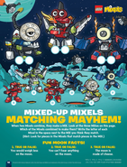 Mixed-up Mixels matching mayhem