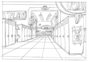 Mixels Hallway
