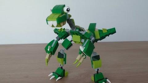 LEGO MIXELS SERIES 10 DINOSAURZ MAX MOC Instructions