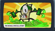 Mixels Clarence and Friends Sleepover promotion