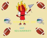 Super Bowl! Go Sea Hawks!