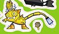 Electroids Max as a sticker