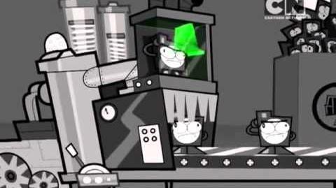 Nixels preiau canalul Promo Cartoon Network