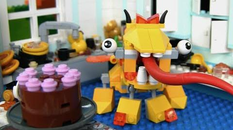 LEGO® Mixels - *Updated Audio* Lixers Max in the Kitchen! Stop Motion Mini Movie