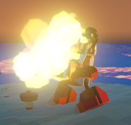 LEGO Worlds Burnard fire 1