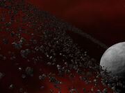The Black Crystals Obsidian