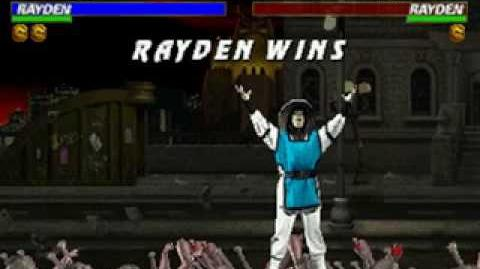 Mortal Kombat Trilogy - Brutality - Raiden