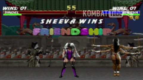 MK III Sheeva Friendship