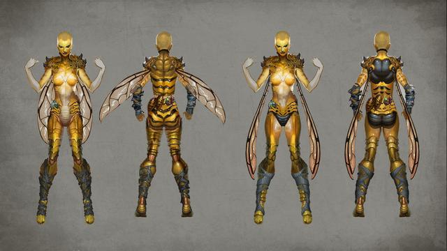 File:MKX D'vorah Concept Art 3.png