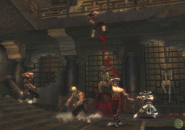 File:Liu Kang & Kung Lao at the Soul Tombs.jpg