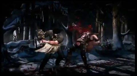 Mortal Kombat X Leatherface GamePlay Trailer