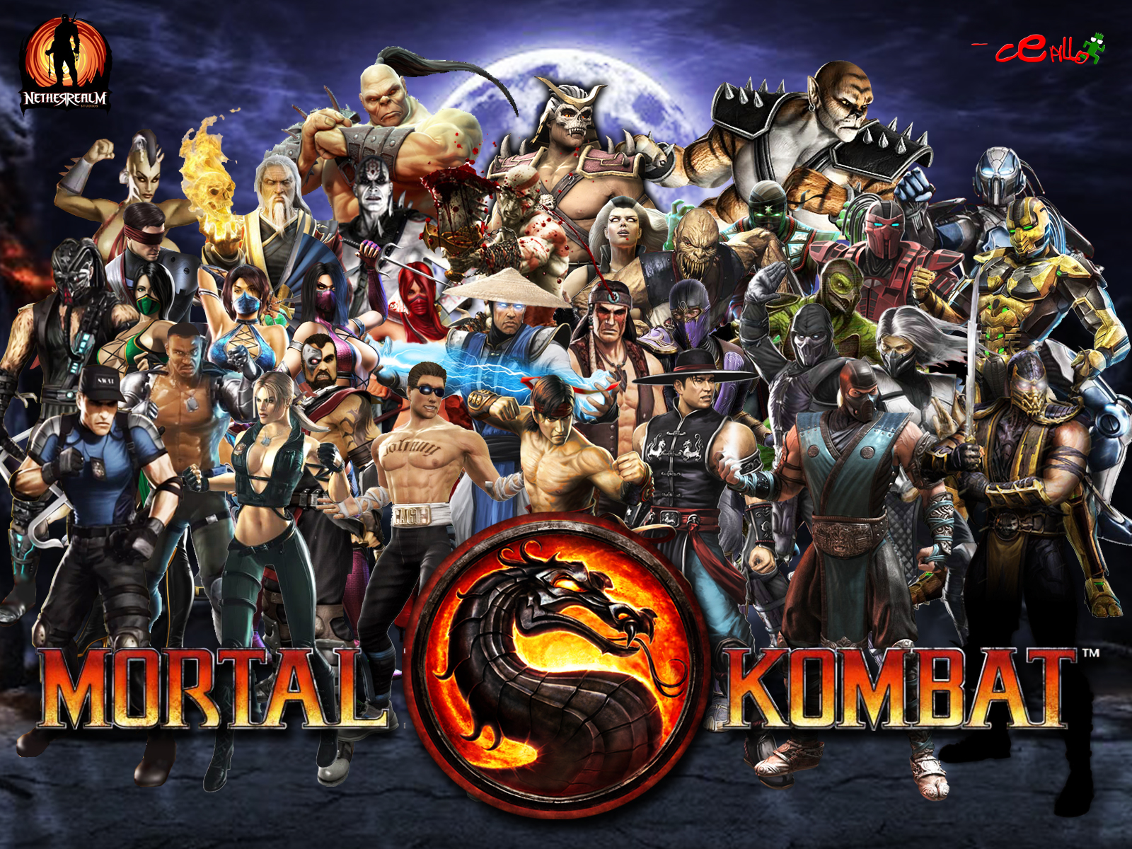 Image Result For Mortal Kombat Characters