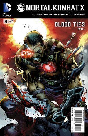 Mortal Kombat X 4 Print Cover