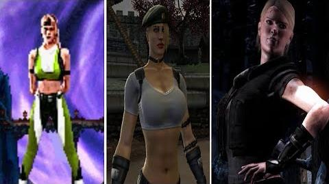 Sonya All Victory Poses - MK1 to MKX