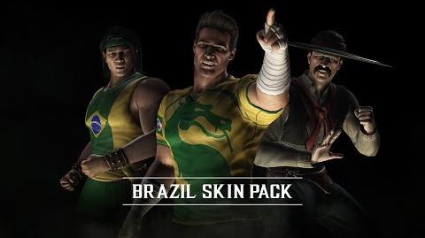 Mortal Kombat X - Brazilian Skin Pack
