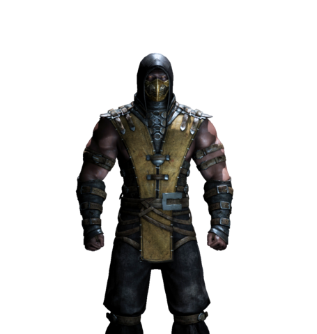 File:Mortal kombat x pc scorpion render 5 by wyruzzah-d8qyw2l.png
