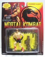 Johnny Cage 1994 figure carded