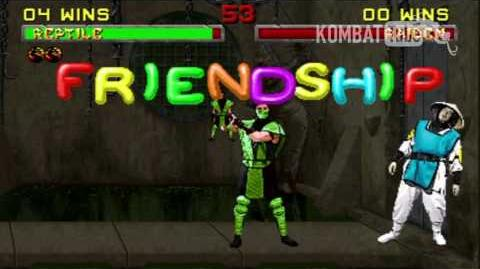MK II Reptile Friendship