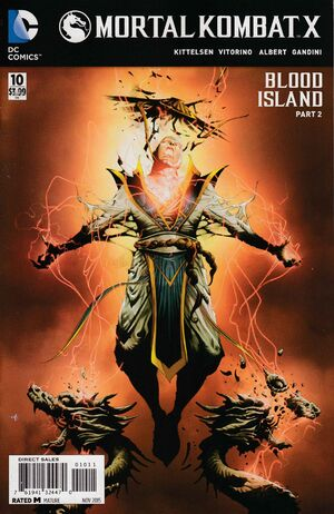 Mortal Kombat X 10 Print Cover