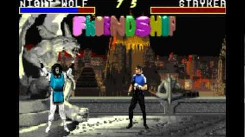 Mortal Kombat Advance Fatalities & Friendships