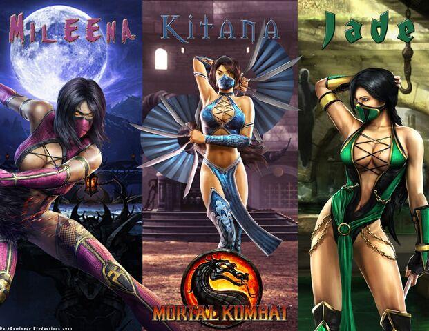 File:Ladies of MK9 mortal kombat 9 jade kitana mileena wallpaper-1- - Copy.jpg