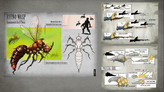 File:MKX D'vorah Concept Art 8.png