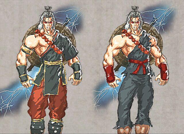 File:Mortal Kombat Deception Raiden Character Studies.jpg