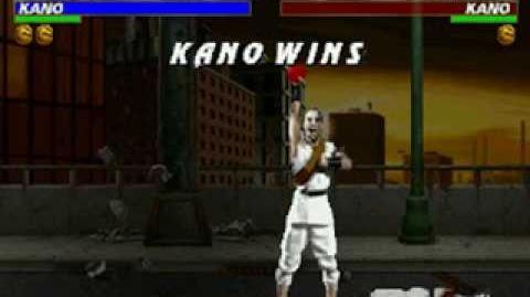 Mortal Kombat Trilogy - Fatality 1 - Kano (MK1)