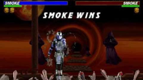 Mortal Kombat Trilogy - Brutality - Smoke