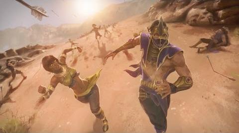 Mortal Kombat X - Tanya's Ending