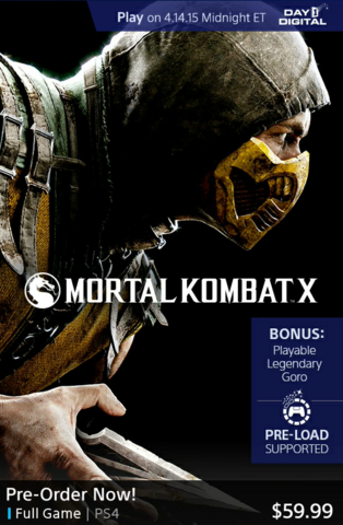 File:MKX pre order on PS4.png