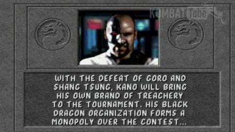 MK I Ending- KANO