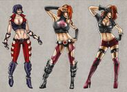 Mortal Kombat Deception Kira Concepts