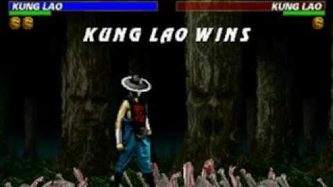 Mortal Kombat Trilogy - Brutality - Kung Lao (MKII)