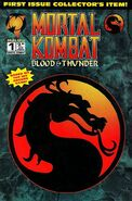 MK Blood & Thunder Issue 1 Cover
